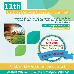 11th Carbon Dioxide Utilisation Summit
