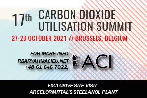 17th Carbon Dioxide Utilisation Summit 2021 en Bruselas