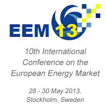 10th European Energy Market Conference, EEM13